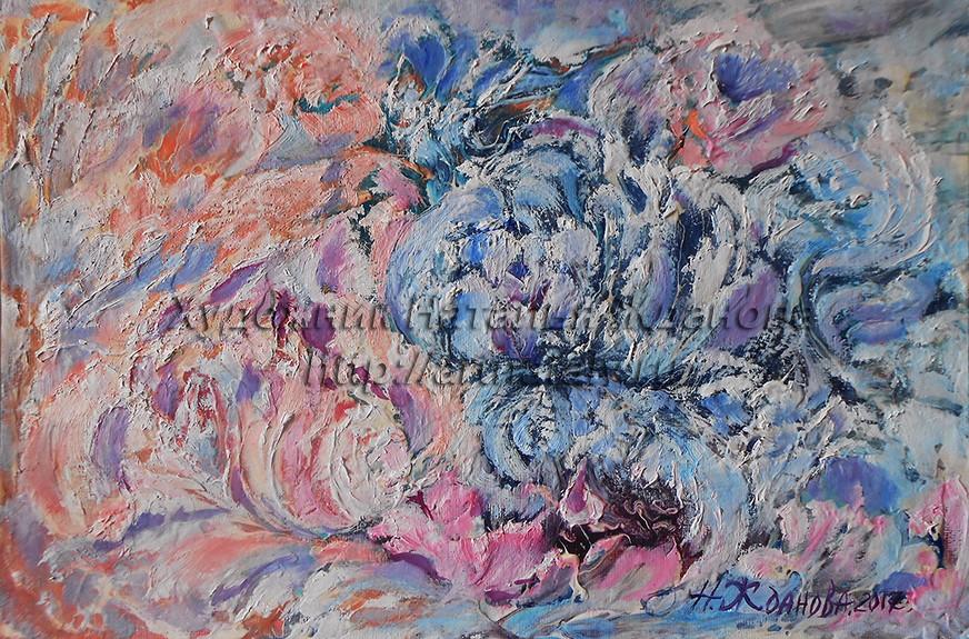 Современная живопись Цветочные фантазии