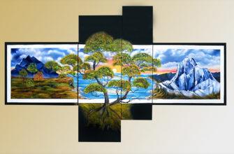 Модульная картина для интерьера