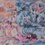 Картина маслом в абстрактном стиле