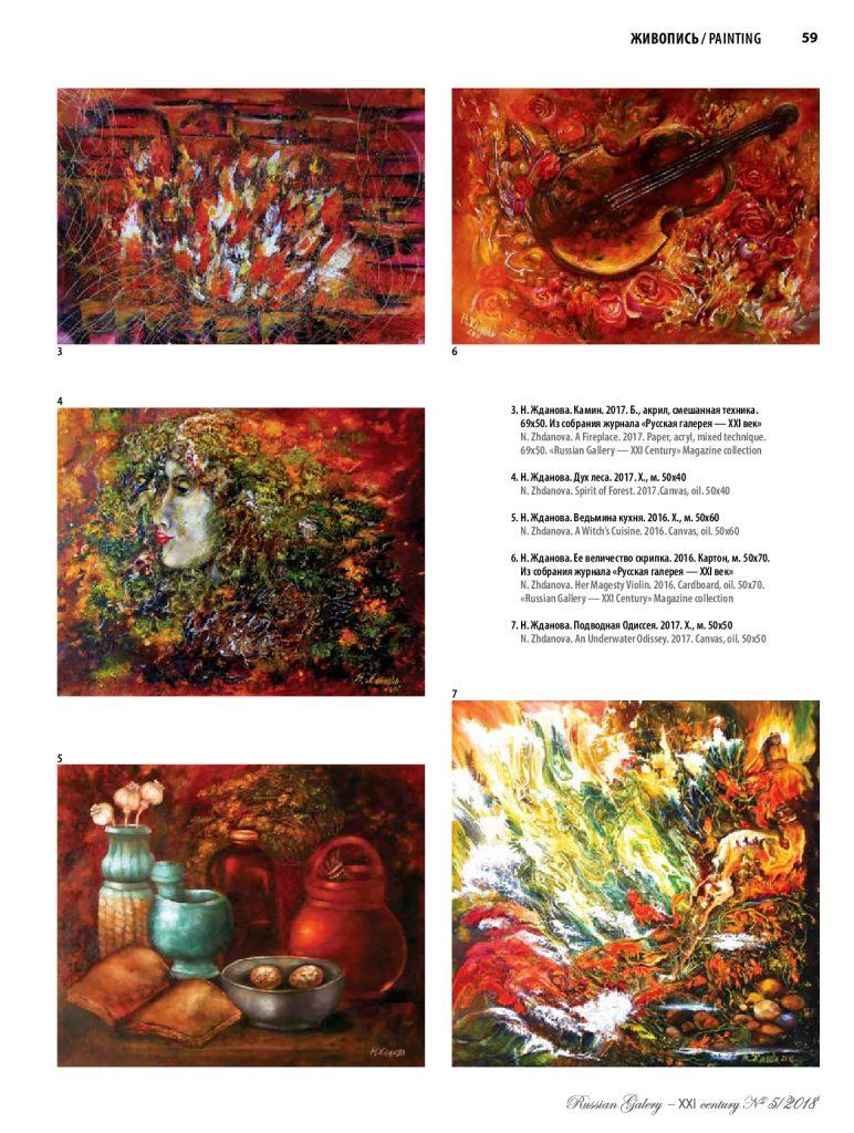 Очарование символизма в современной живописи Натальи Ждановой